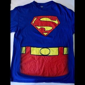 Superman T-Shirt With Cape Size XL